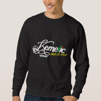 SR Kemetic Staat des Sinnessweatshirts (Schwarzes, Sweatshirt
