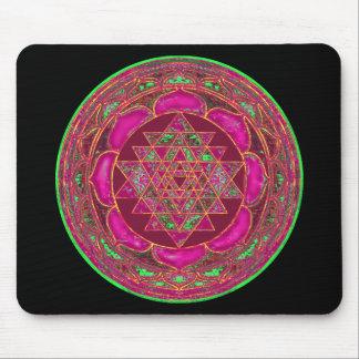 Sri Lakshmi Yantra Mandala Mousepads