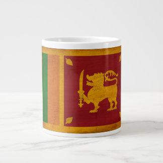 Sri Lanka Flagge Jumbo-Tasse