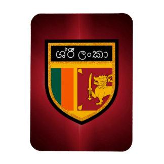 Sri Lanka Flagge Magnet