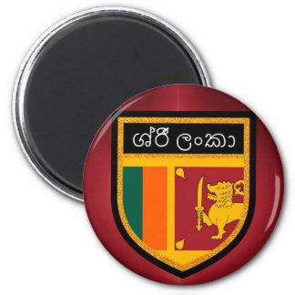 Sri Lanka Flagge Runder Magnet 5,1 Cm