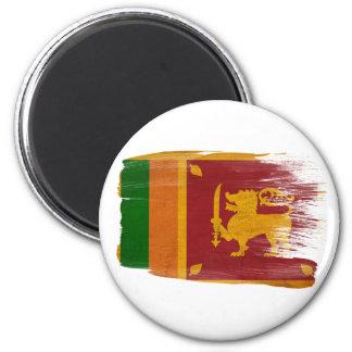 Sri Lanka Flaggen-Magneten Runder Magnet 5,1 Cm