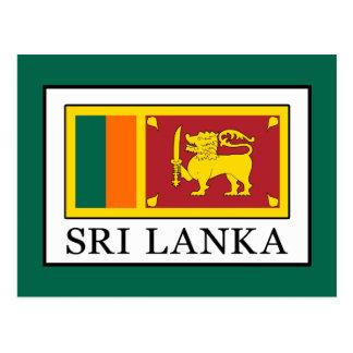 Sri Lanka Postkarte