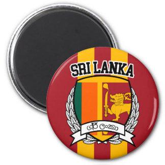 Sri Lanka Runder Magnet 5,1 Cm