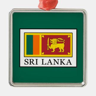 Sri Lanka Silbernes Ornament