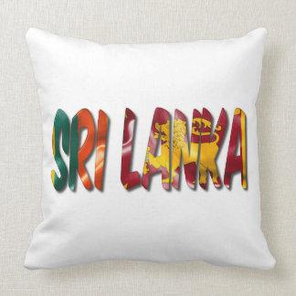 Sri Lanka Wort mit Kissen
