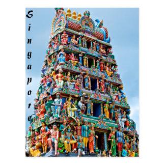 Sri Mariamman Tempel Singapur Postkarte