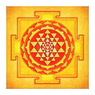 Sri Yantra - Artwork IV Galerie Gefaltete Leinwand