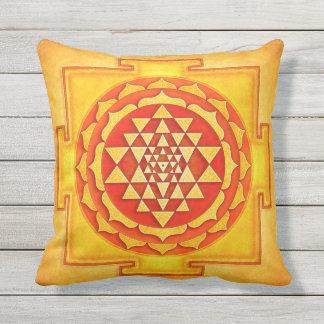 Sri Yantra - Artwork IV Zierkissen