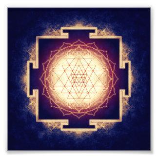 Sri Yantra - Artwork IX Fotodruck