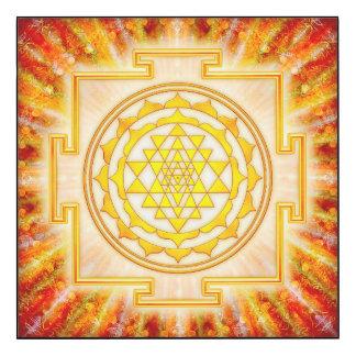 Sri Yantra - Artwork Licht