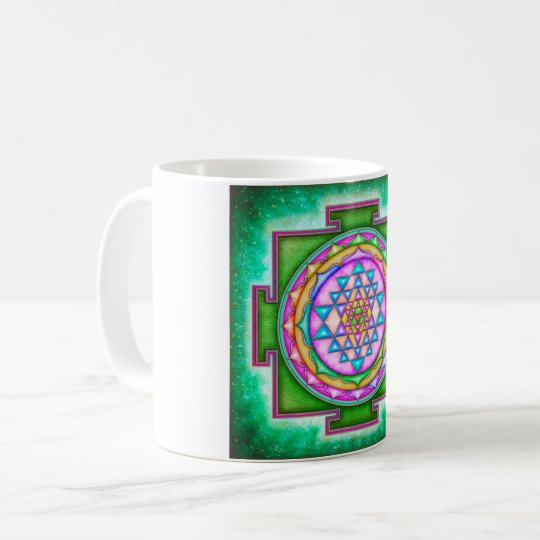 Sri Yantra - Artwork VII Kaffeetasse