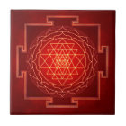 Sri Yantra - Artwork X Keramikfliese