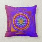 SRI YANTRA voll gefärbt + Ihre Ideen Kissen