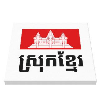 Srok Khmer Leinwanddruck
