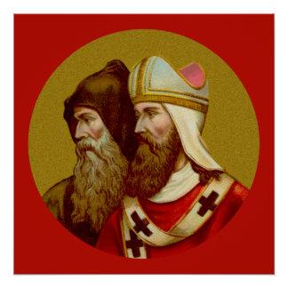 """SS. Cyril u. Methodius (M 001) 20"""" x20"""" Plakat #1 Poster"""