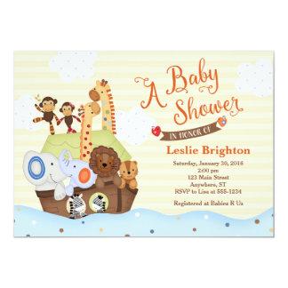 SS Noah/Noahs Arche-Babyparty-Einladung Karte