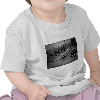 SS Vereinigte Staaten am Pier in New York City T-shirt