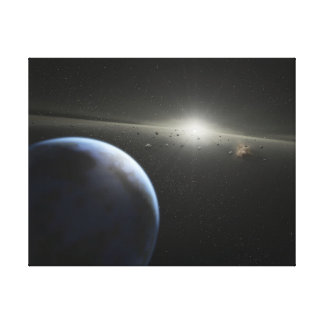 SSC2005 10c ist es die felsige Welt-NASA Leinwanddruck