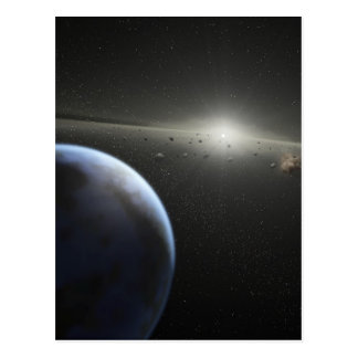 SSC2005 10c ist es die felsige Welt-NASA Postkarte