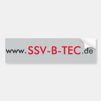 SSV-B-TEC AUTOAUFKLEBER