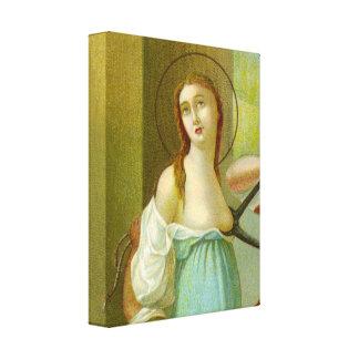 St. Agatha (M 003) Leinwanddruck