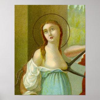St. Agatha (M 003) Poster