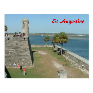 St. Agustine Postkarten