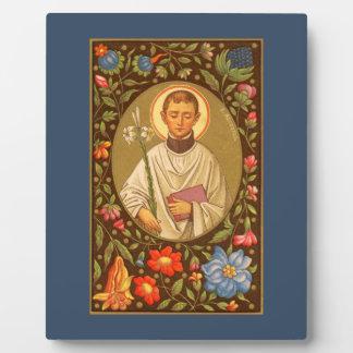 "St. Aloysius (P.M. 01) 8"" x10"" Plakette #1 mit Fotoplatte"