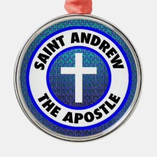 St Andrew der Apostel Silbernes Ornament