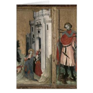 St Andrew, der Dämonen von der Stadt jagt Karte