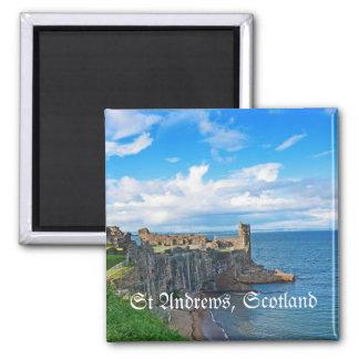 St- Andrewsschloss, Schottland Quadratischer Magnet