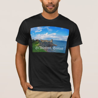 St- Andrewsschloss, Schottland T-Shirt