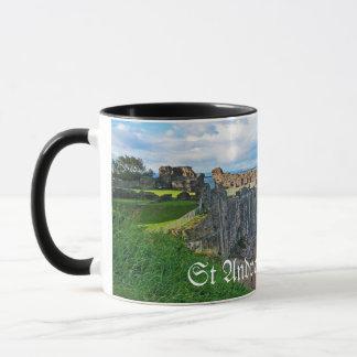 St- Andrewsschloss, Schottland Tasse