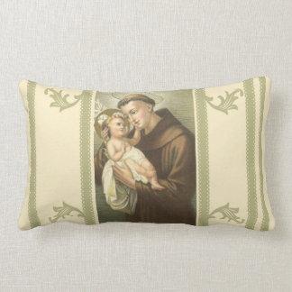 St Anthony von Padua u. von Baby Jesus Lendenkissen