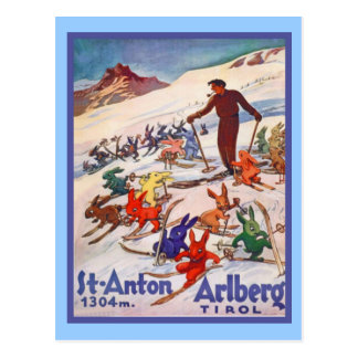 St. ANton, Arlberg; Tirol Postkarte