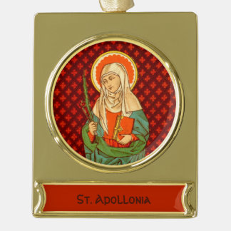 St. Apollonia (VVP 001) Banner-Ornament Gold