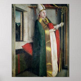 St Augustine c.1435 Poster