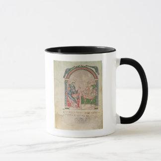 St Augustine, das mit Faustus argumentiert Tasse