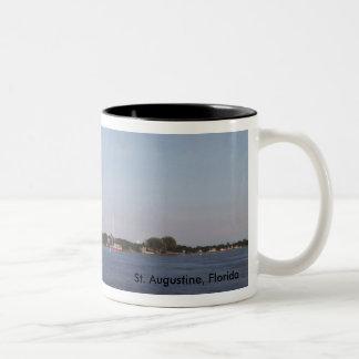 St Augustine, Florida Zweifarbige Tasse