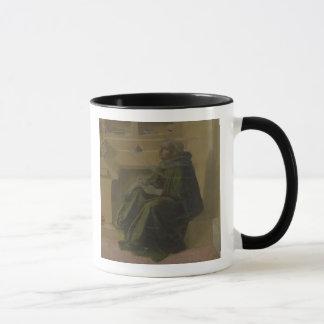 St Augustine in seiner Studie (Predella des Barbad Tasse