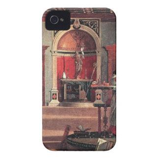 St Augustine in seiner Studie - Vittore Carpaccio iPhone 4 Hülle