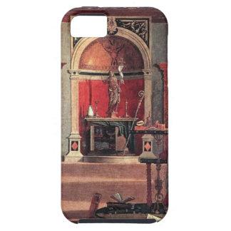 St Augustine in seiner Studie - Vittore Carpaccio iPhone 5 Etui