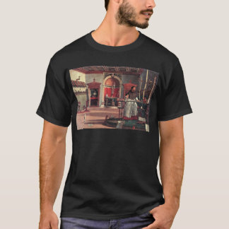St Augustine in seiner Studie - Vittore Carpaccio T-Shirt