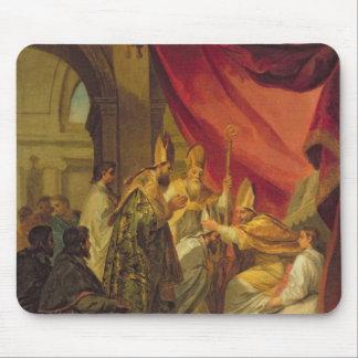 St Augustine ordinierte als der Bischof Mousepads