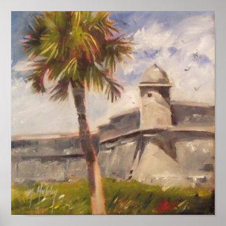 St- Augustinefort - Castillo De San Marcos Poster