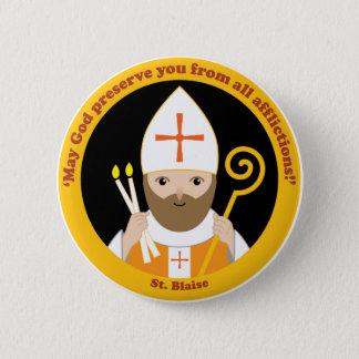 St. Blaise Runder Button 5,1 Cm