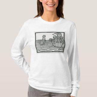St. Brendan und die Sirene T-Shirt