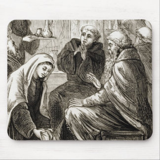 St. Brigit, das einen Bischof, 'von der Trias Mousepads