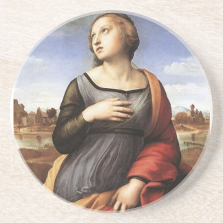 St. Catherine von Alexandria Sandstein Untersetzer